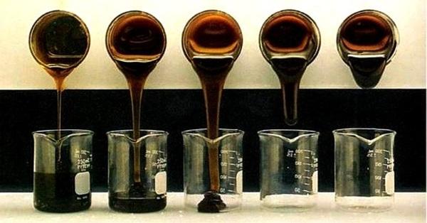 Пример вязкости гидравлического масла